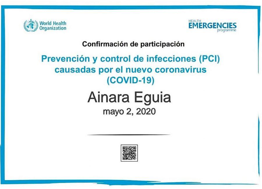 Certificado en Prevencion y Control del Covid19 ainara eguia micropigmentacion microblanding softap ojos labios capilar cicatrices bilbao vitoria lekeitio madrid